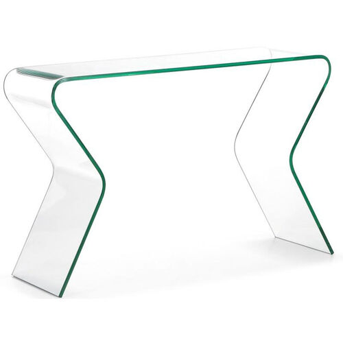 Our Respite Console Table with Clear Glass is on sale now.