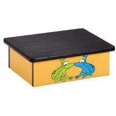 Yellow Rainforest Frog Pediatric Step Stool