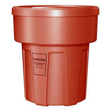 30 Gallon Cobra Food Grade/General Use Trash Can - Red