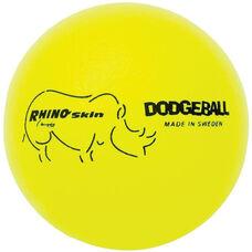 Rhino Skin Dodgeball Set Low Bounce in Neon Yellow