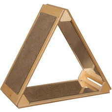 Wooden Frame Mirror Triangle - 29