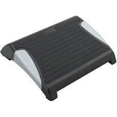 RestEase™ Adjustable Footrest with Anti Slip Rubber Mat - Set of Five - Black