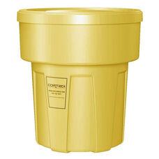 30 Gallon Cobra Food Grade/General Use Trash Can - Yellow