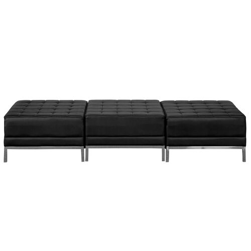 Our HERCULES Imagination Series Black Leather Three Seat Bench is on sale now.