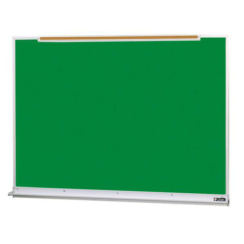 800 Series Aluminum Frame Chalkboard with Marker Tray and Map Rail - 96