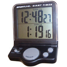 Digital Electronic Display Presentation Clock Timer with 2 Line Display Countdown Timer and Clock - 6