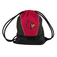 University of Louisville Team Logo Spring Drawstring Backsack