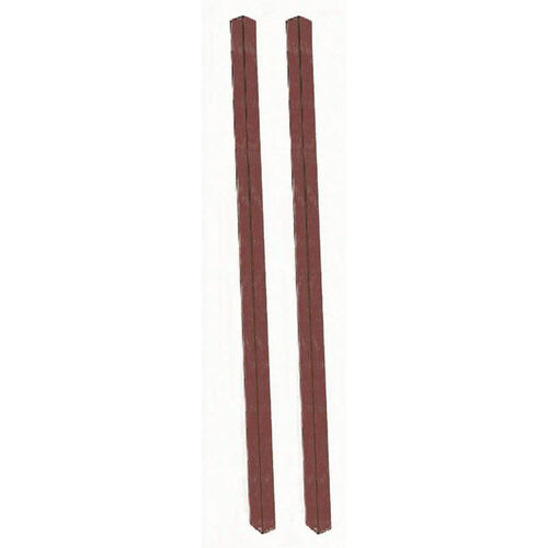 Our Rosewood Plastic Lumber Post Set is on sale now.