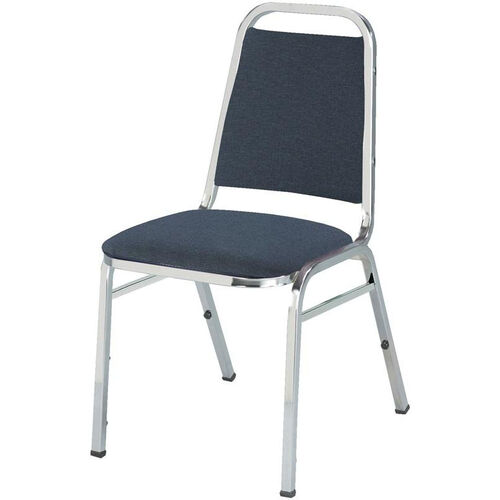 Our 800 Series Stacking Armless Hospitality Chair with Trapezoid Back and 1.5