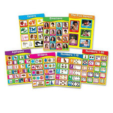 Carson-Dellosa Publishing Early Learning Chart - 7/ST