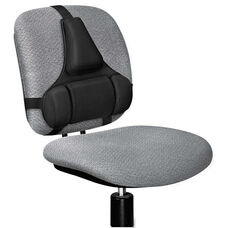 Fellowes® Professional Series Back Support - Memory Foam Cushion - Black