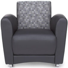 InterPlay Chair - Nickel and Black