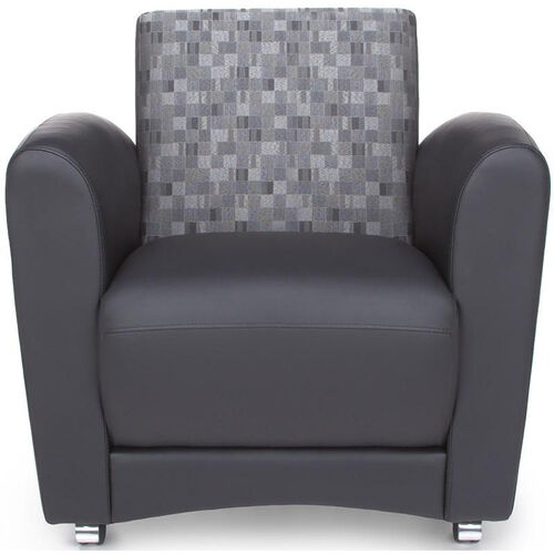 Our InterPlay Chair - Nickel and Black is on sale now.