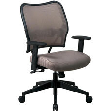 Space VERA Series Deluxe Task Chair with VeraFlex Back - Latte