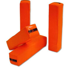 Pro-Down Weighted Anchorless Pylons - Fluorescent Orange