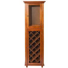 Napoli IV Wine Cabinet - Mahogany