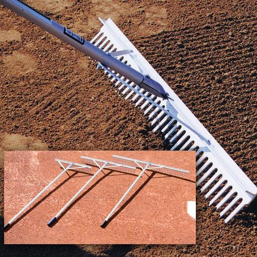 Our Aluminum Grooming and Maintenance Large-Tooth Rake is on sale now.