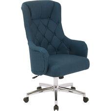 Ave Six Ariel Desk Chair - Klein Azure