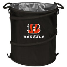 Cincinnati Bengals Team Logo Collapsible 3-in-1 Cooler Hamper Wastebasket