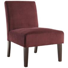 Ave Six Laguna Chair - Port Velvet Fabric