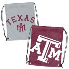 Texas A&M University Team Logo Doubleheader Drawstring Backsack