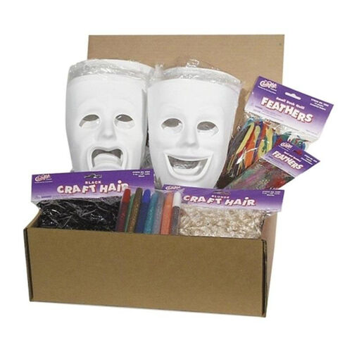 Our Chenille Kraft Company Plastic Masks Classroom Activities - 6 Sad/6 Happy is on sale now.