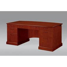 Belmont Executive Desk - Brown Cherry