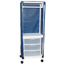 Universal Cart with Drawers with Mesh Cover and Casters- 27