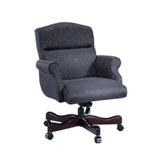 Renaissance Series Rolled Arm Executive Swivel Chair without Tufts