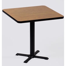 Laminate Top Square Cafe Table with 29
