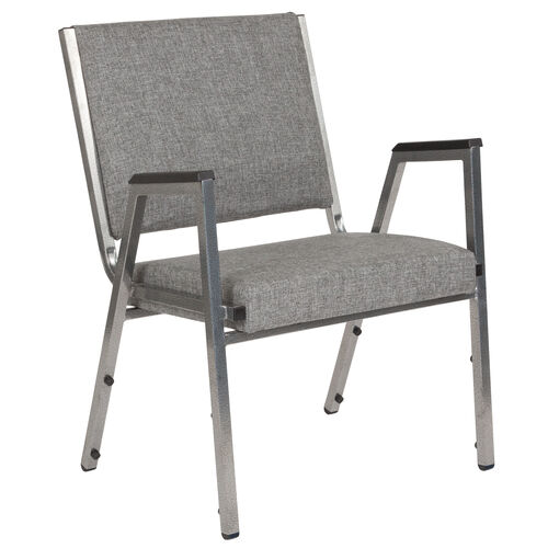 Our HERCULES Series 1500 lb. Rated Gray Antimicrobial Fabric Bariatric Antimicrobial Medical Reception Arm Chair is on sale now.