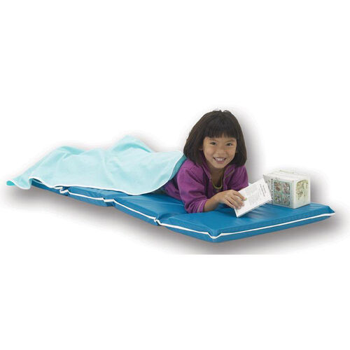 Our Vinyl Foldable Heavy-Duty Rest Mat - Blue and Teal is on sale now.