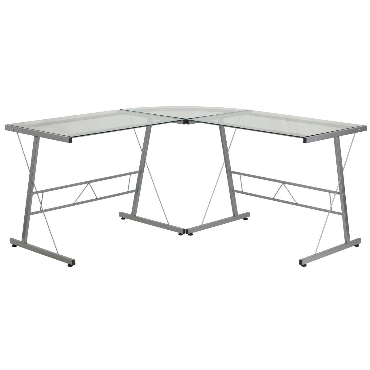 Glass Top Desk NAN-CD-22181-GG | Bizchair.com