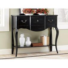 Charlotte Sofa Table with Shelf