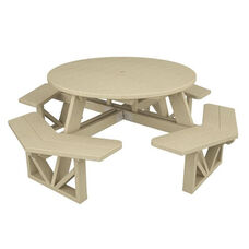 POLYWOOD® Commercial Collection Park Octagon Table - Sand