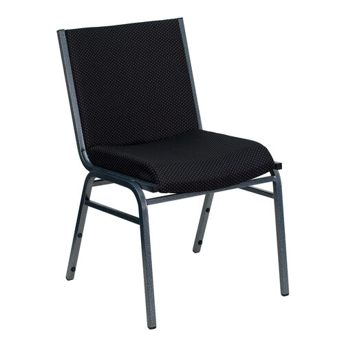 Our HERCULES Series Heavy Duty Black Dot Fabric Stack Chair is on sale now.