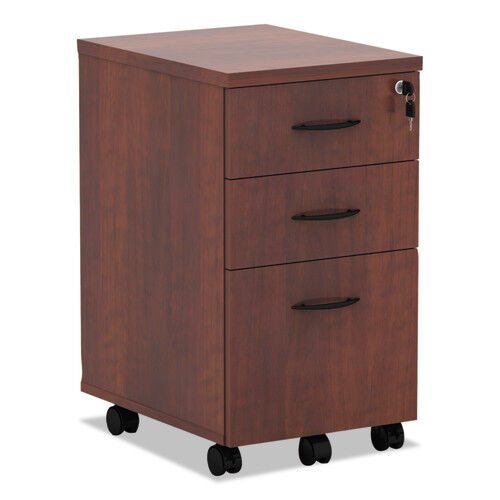 Our Alera® Valencia Mobile Box/Box/File Pedestal File - 15 7/8 x 20 1/2 x 28 3/8 - Med Cherry is on sale now.