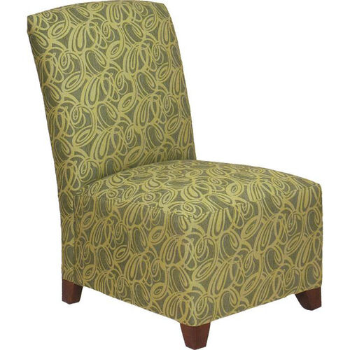 2260 Upholstered Lounge Chair w/ Tapered Wood Feet - Grade 1