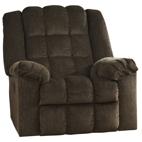 Our Signature Design by Ashley Ludden Power Rocker Recliner in Cocoa Twill is on sale now.