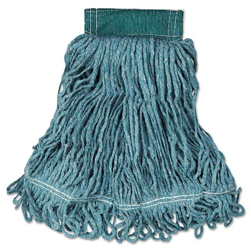 Our Rubbermaid® Commercial Super Stitch Blend Mop Head - Medium - Cotton/Synthetic - Green - 6/Carton is on sale now.