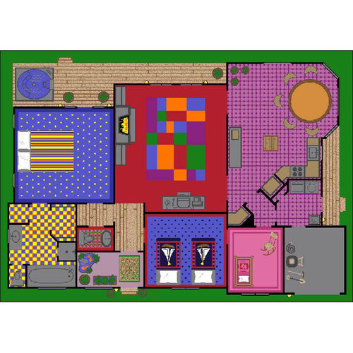 Our Creative Playhouse Rug is on sale now.