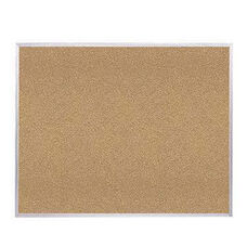 Aluminum Frame Natural Self-Healing Cork Board
