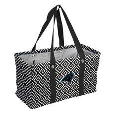 Carolina Panthers Team Logo Double Diamond Picnic Carry All Caddy