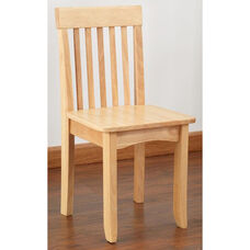 Avalon Classic Style Solid Wood Kids Chair - Natural
