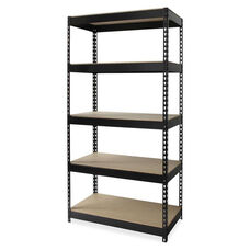 Lorell Riveted Steel Shelving - 36