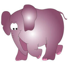 Elephant Wall Sticker - 58