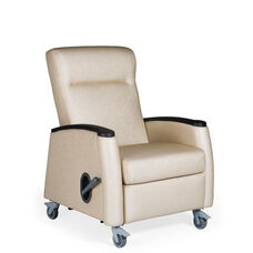Tranquility Mobile Medical Recliner - Vinyl Upholstery