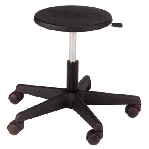 Millennium Series Adjustable Poly Lab/Tech Stool