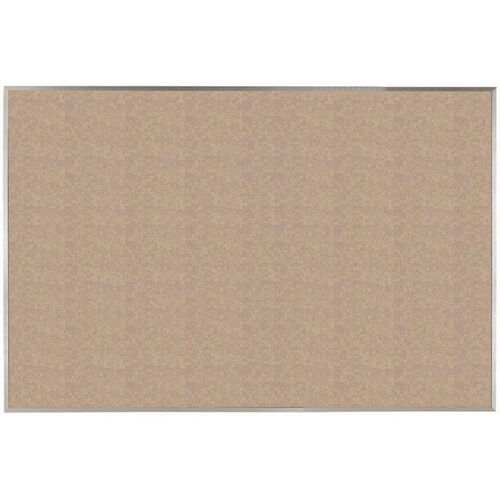 Our VIC Cork Bulletin Board with Satin Anodized Aluminum Frame - Buff - 48