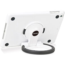 MultiStand for iPad Mini - White Shell with White and Black Ring